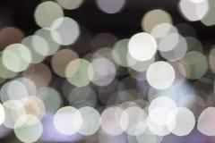 Festlicher Weihnachtshintergrund. Eleganter abstrakter Hintergrund mit dem bokeh defocused lizenzfreie abbildung