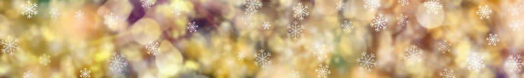 Festlicher Weihnachtshintergrund fahne Lizenzfreie Stockfotografie
