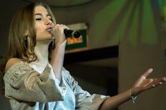 Festliches Ereignis widmete sich Tag von Arbeitskräften der Wohnung und der Kommunalservices in Kaluga (Russland) am 17. März 201 Lizenzfreies Stockbild