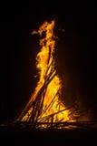 Festliches Feuer Stockfotos