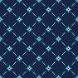 Festliches und modernes Strickjacken-Design Nahtloses gestricktes Muster Stockfotografie
