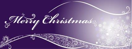 Festlig bakgrund för jul med snowflakes. Royaltyfria Foton