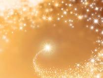 Festlig bakgrund för lycklig stjärna Arkivfoton