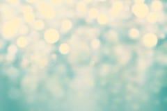 Festlig bakgrund för mousserande ljus med textur Abstrakta Chris Arkivfoto