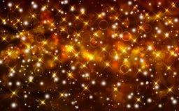 Festlig bakgrund med stjärnor Royaltyfri Bild