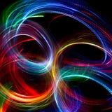 festlig bakgrundsjul Abstrakt begrepp blinkade ljus backgroun arkivbild