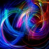 festlig bakgrundsjul Abstrakt begrepp blinkade ljus backgroun royaltyfri foto