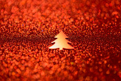 festlig bakgrundsjul Abstrakt begrepp blinkade ljus backgroun Arkivfoto