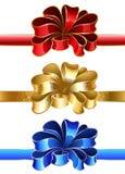 Festlig bow Royaltyfri Foto