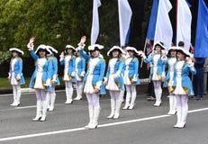 Festlig demonstration Royaltyfri Fotografi
