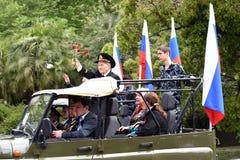Festlig demonstration Royaltyfria Bilder