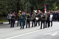Festlig demonstration Royaltyfri Bild