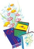 festlig design Royaltyfri Bild