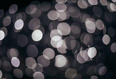Festlig elegant abstrakt bakgrund med bokehljus Royaltyfri Foto