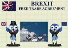 Festlig Förenade kungariket handeldelegation Arkivfoton