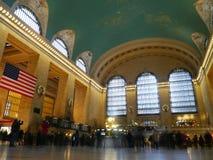 Festlig Grand Central station Fotografering för Bildbyråer