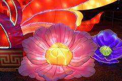 Festlig jätte för lykta för festival för vår lantern-2018 Arkivbild