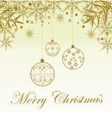 Festlig julbakgrund Fotografering för Bildbyråer