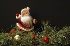 Festlig jultomtenplats Royaltyfri Bild