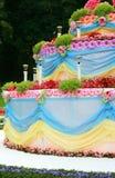 Festlig kaka Arkivbild