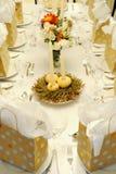 festlig tabell för höst Royaltyfria Bilder