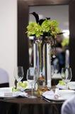 festlig tabellwhite för härlig choklad Royaltyfri Fotografi