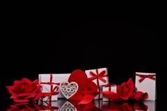 Festlig valentin dagbakgrund royaltyfria foton