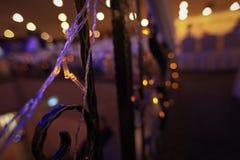 festliga lampor Arkivbilder