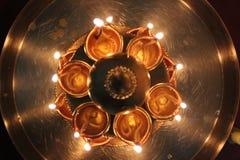festliga lampor Royaltyfri Fotografi