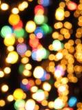 festliga lampor för bakgrund Fotografering för Bildbyråer
