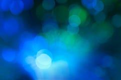Festliga ljus och cirklar Royaltyfria Bilder