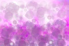 Festliga rosa ljusa abstrakta Bokeh, den defocused färgrika lutningen och pastell färgade Härligt texturera vektor illustrationer