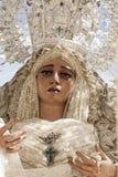 Festmåltid av den heliga veckan eller påsken i staden av Seville arkivbild