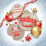 Festmåltid av jul Royaltyfri Fotografi