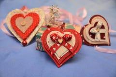 Festmåltidst-valentin gåva för förälskelse för passion för hjärta för festlighet för vänner för dag röd royaltyfri fotografi