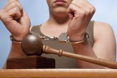 Festnahme Lizenzfreies Stockfoto