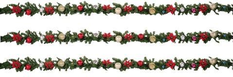 Festão do Natal Foto de Stock