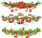 Festão do Natal Fotografia de Stock Royalty Free