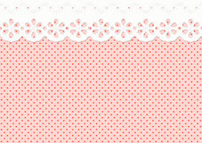Feston/ornament op bevlekt eindeloos patroon - Royalty-vrije Stock Afbeelding