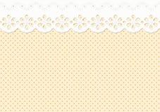 Feston/Verzierung auf dem beschmutzten Muster - endlos lizenzfreie abbildung