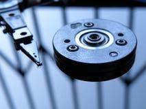 Festplatte nach innen Lizenzfreie Stockbilder