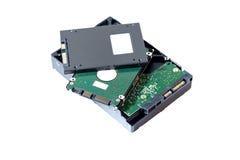Festplatte und SSD Lizenzfreies Stockbild