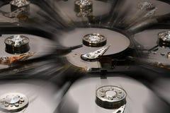 Festplatten-Computer fährt geöffnet und übereingestimmt Lizenzfreie Stockfotografie