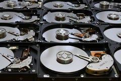Festplatten-Computer fährt geöffnet und übereingestimmt Lizenzfreies Stockfoto