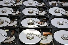 Festplatten-Computer fährt geöffnet und übereingestimmt Lizenzfreie Stockbilder