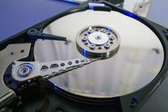 Festplattendisketten Öffnen Sie hdd Festplatte Datenwiederaufnahme von geschädigten Medien Lizenzfreie Stockfotos