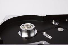 Festplattenkasten mit Rotor Lizenzfreie Stockbilder