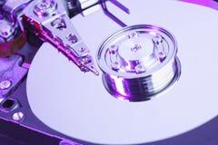 Festplattenlaufwerk des Computers lizenzfreie stockfotografie