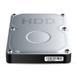 Festplattenlaufwerk (HDD) Stockfotografie