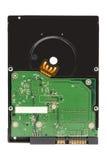Festplattenlaufwerk HDD lokalisiert auf einem weißen Hintergrund Lizenzfreie Stockfotografie